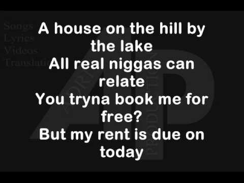 B.o.B - All I Want (Lyrics) 2013