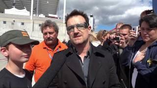 Meeting Bono In Salt Lake City - Rice-Eccles Stadium, Utah - May 24, 2011
