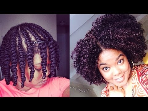 Natural Hair   Updated Flat-Twist Out