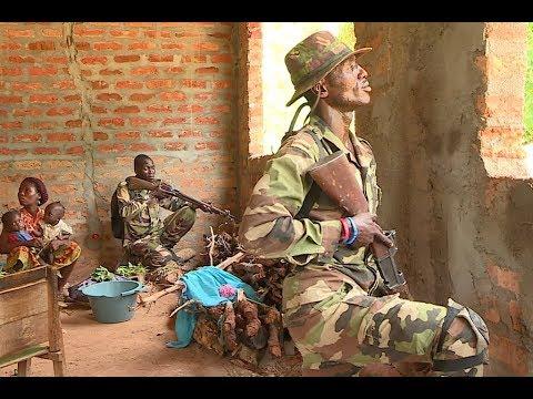 République Centrafricaine: combat d'infanterie à Bangui
