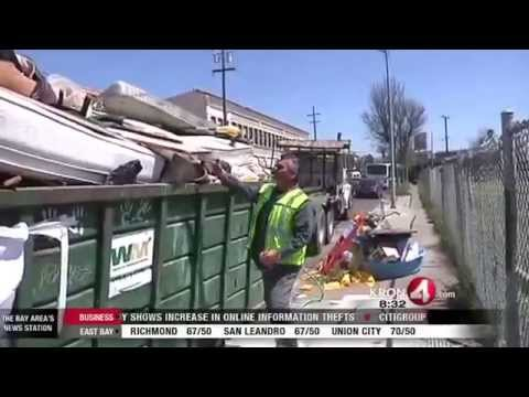 Legal Dump Sites Overflow with Out-of-Town Dumpers Taking Advantage of Oakland
