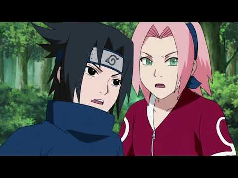 Sasuke and Sakura vs Sasori Full Fight