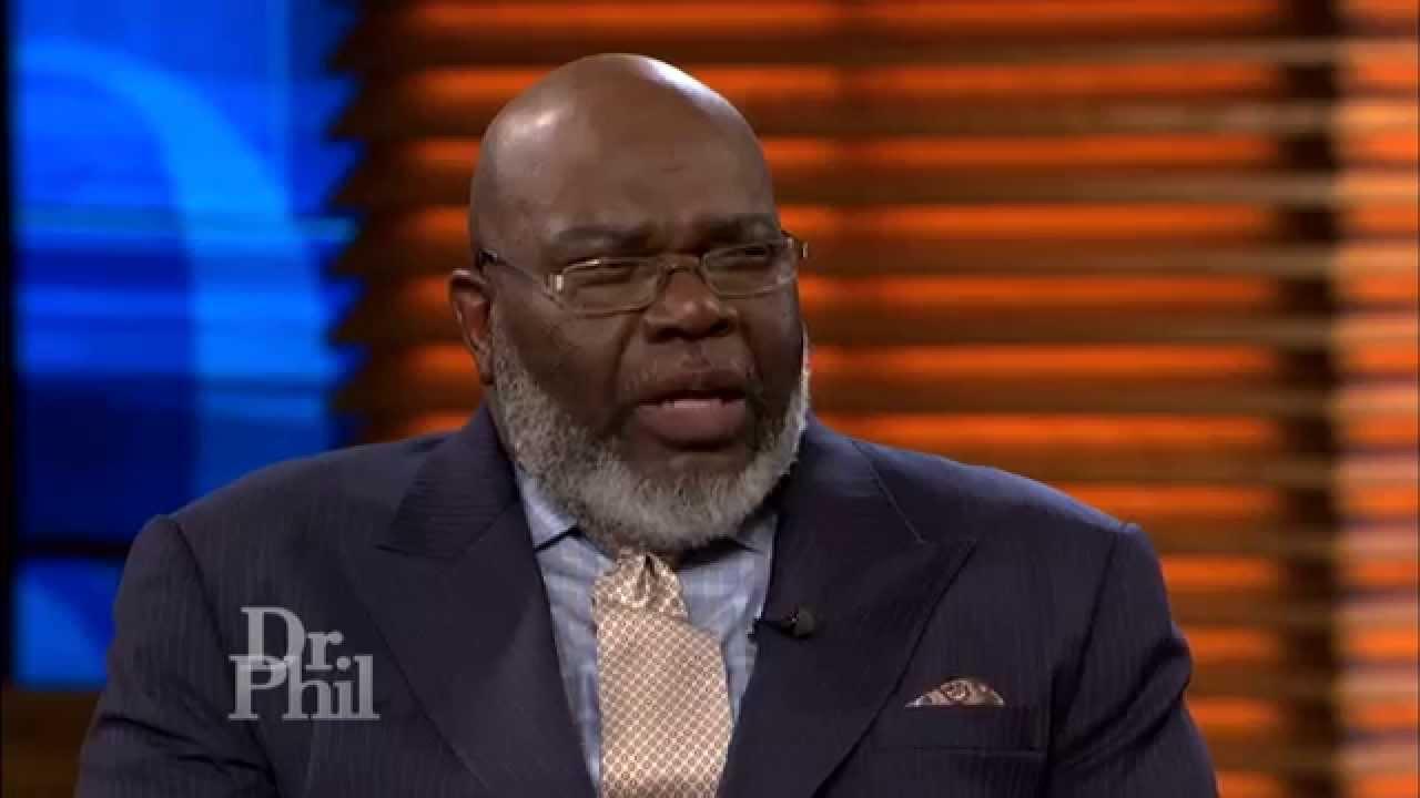Bishop T D  Jakes Talks About Importance of Instinct -- Dr  Phil