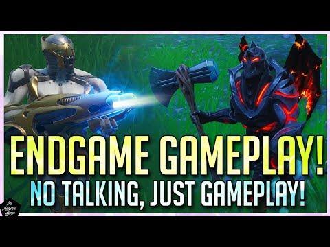 FORTNITE: AVENGERS ENDGAME MODE GAMEPLAY! NO COMMENTARY, JUST GAMEPLAY!