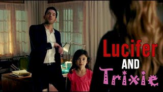 Lucifer & Trixie // Hello Again Small Human