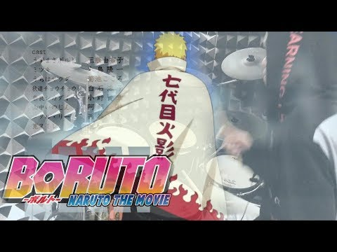 【BORUTO - ボルト ED2 Full】ScenarioArt -「サヨナラムーンタウン」を叩いてみた - Sayonara Moon Town - Drum Cover