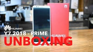 Huawei Y7 2018 - Unboxing e Impresiones  y7 prime