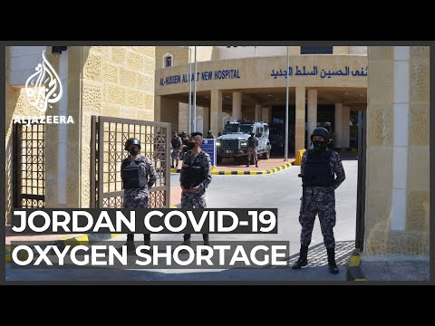 Jordan health minister resigns after oxygen outage kills patients