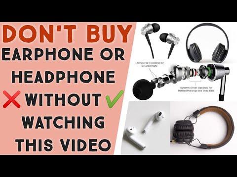 Earphones / headphones buying guide 2020 | Don't buy earphones without watching this video | best bt