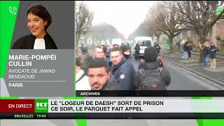 Relaxe du «logeur de Daesh» : l'avocate de Jawad Bendaoud se confie à RT France
