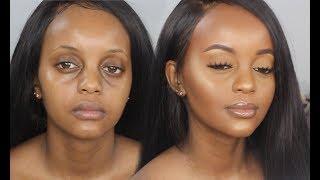 MY EVERYDAY MAKEUP TUTORIAL | DarkSkin Makeup