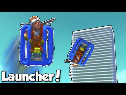 Launched over Eclipse Tower! - Scrap Mechanic Workshop & Submissions w/ Camodo Gaming