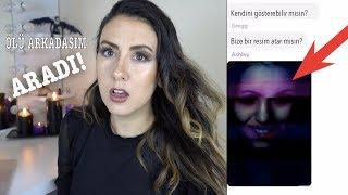 GECE 3'TE ÖLÜ ARKADAŞIMLA YAZIŞTIM! (Paranormal)   Korkunç Mesajlaşmalar
