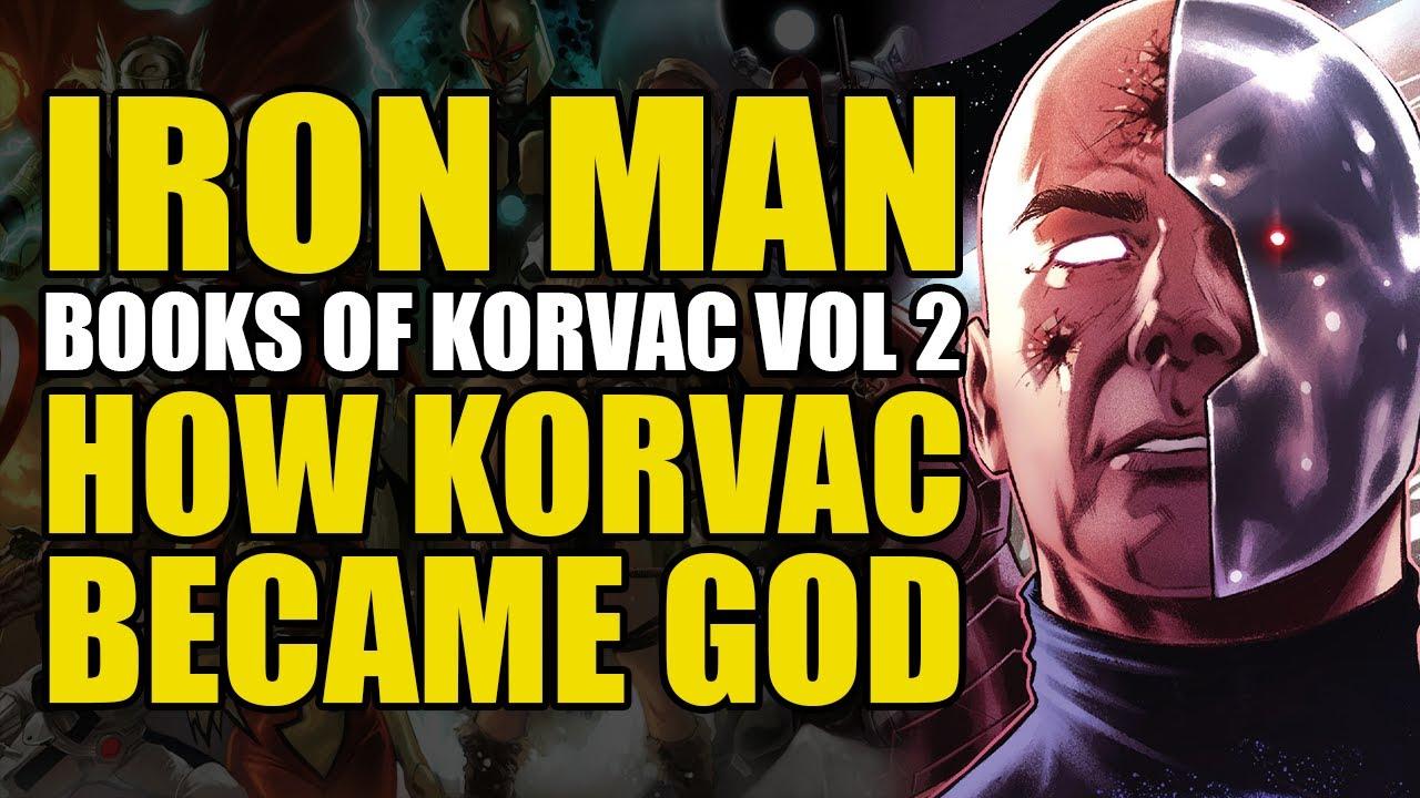 How Korvac Became God: Iron Man Vol 2 Books of Korvac II | Comics Explained