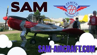 SAM experimental aircraft, Midwest LSA Expo Mt. Vernon Airport, Sept. 8, 9, 10, 2016.
