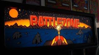 Video 1980 Battlezone Arcade Game!  Atari Classic upright cabinet... gameplay, artwork overview download MP3, 3GP, MP4, WEBM, AVI, FLV Juni 2018