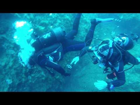 Diving at Lacona
