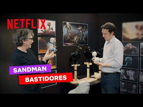 Neil Gaiman nos bastidores de Sandman | Netflix Brasil