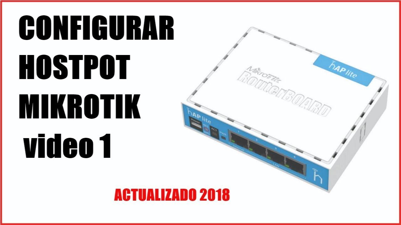Configurar Hostpot Mikrotik Rb750r2rb750gr3rb3011 450g Video Rb750gr3 Hex R3 1 2018