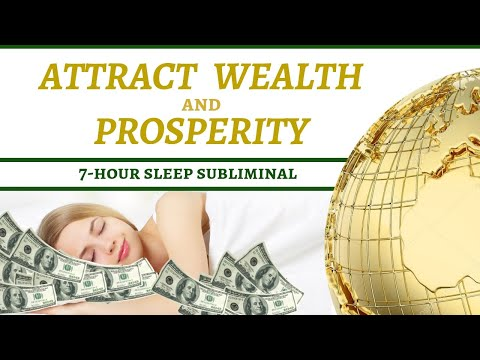 Achievable Wealth And Prosperity Sleep Subliminal Magnetizer 7hrs