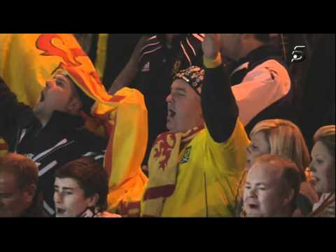 Amy Macdonald   Flower of Scotland Anthem   Scotland Spain   20101012