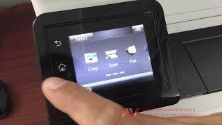 Máy in đa chức năng HP Color LaserJet Pro MFP M281FDN review | Cài đặt trên windows 10 64 bit