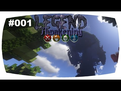 Minecraft Legend Awakening | Es geht wieder los! + Outtakes | ChristinaLP | #001