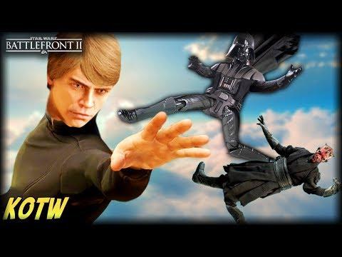 Luke's EPIC Force Push! - Star Wars Battlefront 2 TOP 5 KILLS OF THE WEEK Mp3