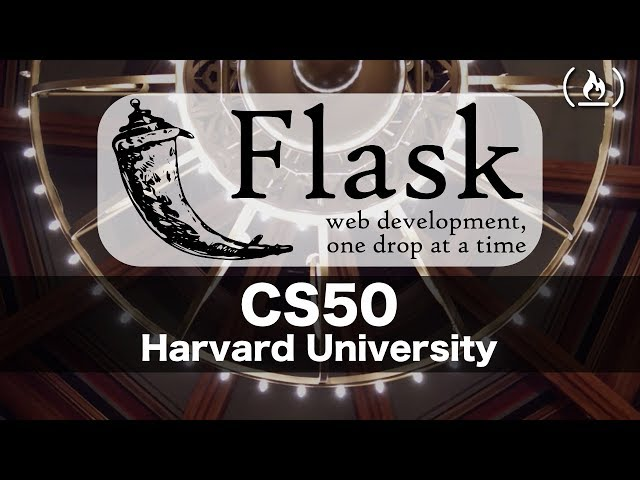 Web Programming with Flask - Intro to Computer Science - Harvard's CS50 (2018)