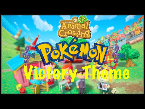 Pokemon Town Tune-Animal Crossing New Leaf