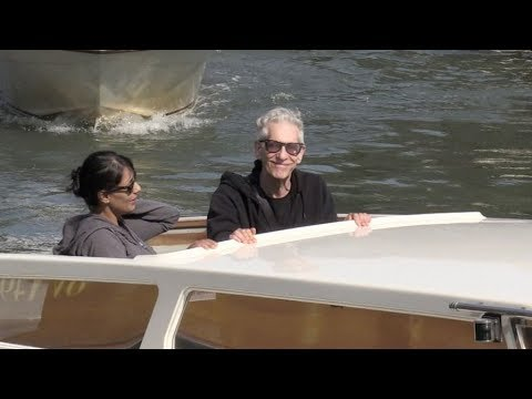 Legendary director David Cronenberg arrives in Venice for the Film Festival