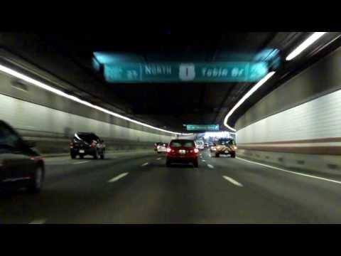 John F. Fitzgerald Expressway (Interstate 93 Exits 18 to 28) northbound