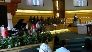 Hari Raya Pentakosta 2012, GKI Surya Utama.