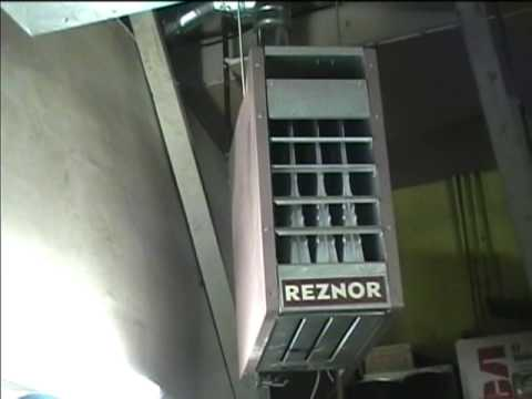 hqdefault 2005 reznor gas fired unit heater youtube reznor model f100 wiring diagram at alyssarenee.co