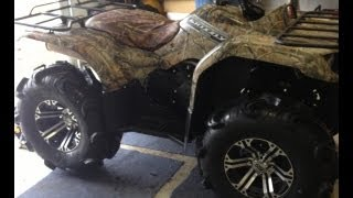 2012 yamaha grizzly 350 review!!!