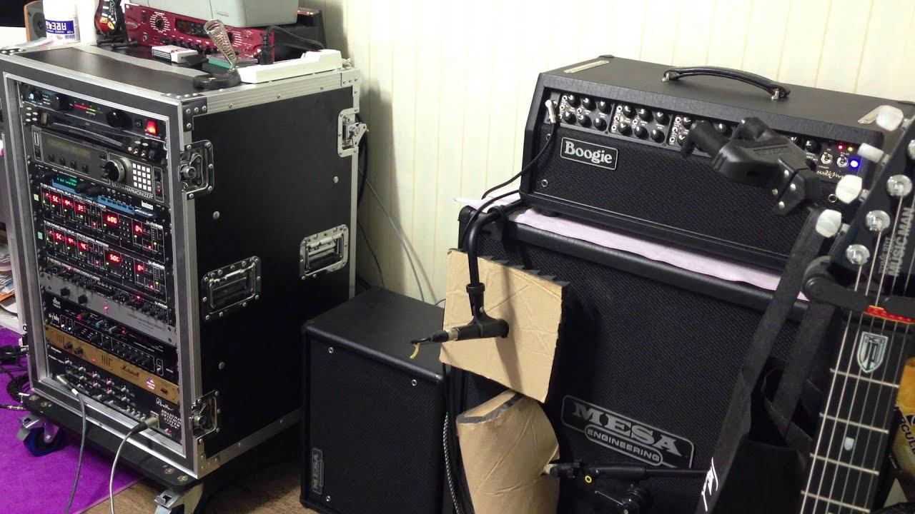 Guitar Rack System Test
