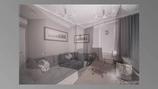 Дорогой и стильный евроремонт трехкомнатной квартиры в ЖК ЛИЦА, Москва. Автор: Николай Комаров