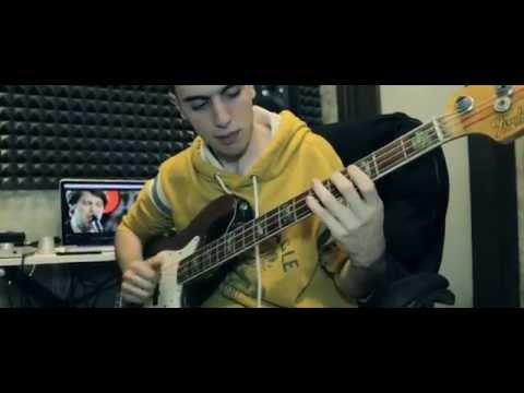Dirty Loops – Just Dance (Bass Cover by Eric S)