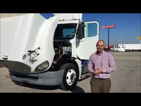 2009 Freightliner Columbia Day Cab with 14.0 L Detroit engine