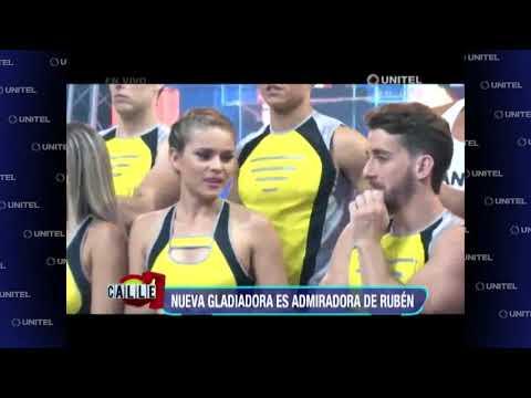 Una de las nuevas gladiadoras es admiradora de Rubén
