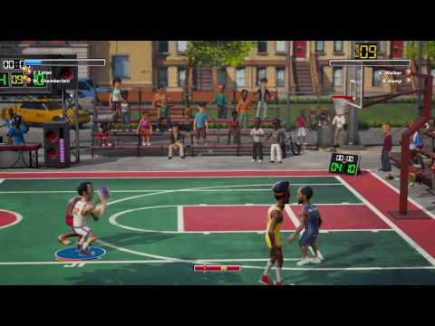 NBA Playgrounds Jerry Lucas signature shot