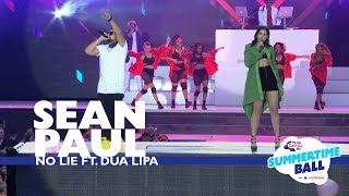 Sean Paul Ft Dua Lipa No Lie Live At Capital S Summertime Ball 2017
