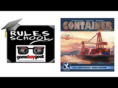 How to Play Container: 10th Anniversary Jumbo Edition (Rules School) with the Game Boy Geek