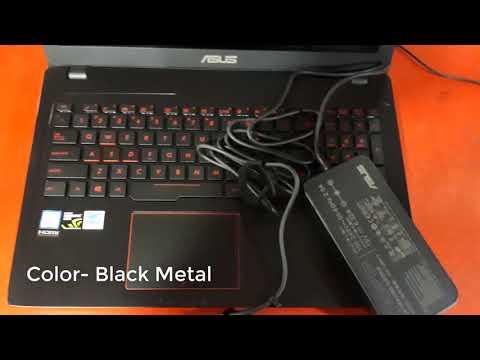 Asus Rog FX553VD Review    GeForce GTX 1050
