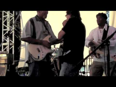 Jimmy Z with the Zac Harmon Band - Medley  - Northern California Blues Festival 2010