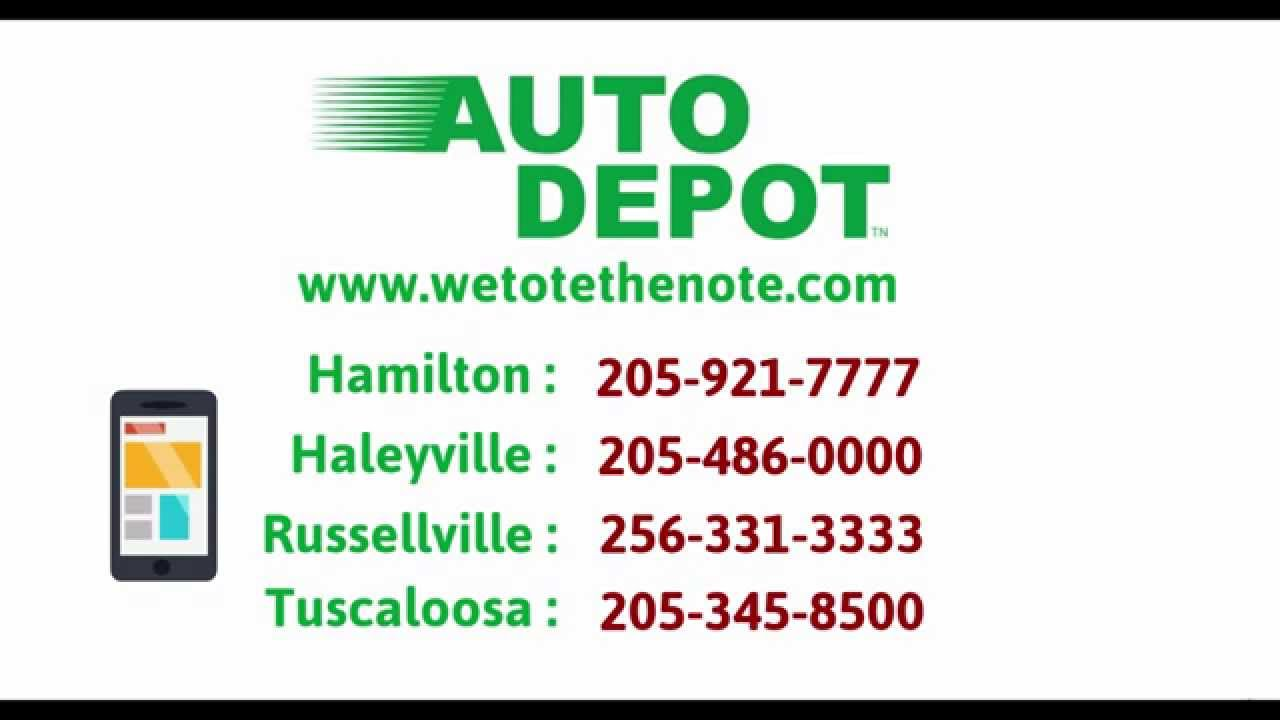 auto depot alabama buy here pay here dealership we in house finance cars tv commercial youtube. Black Bedroom Furniture Sets. Home Design Ideas