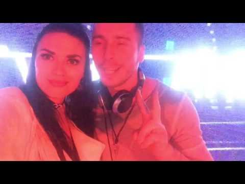 Arena club Kiev Mc Ksyusha and Intense radio