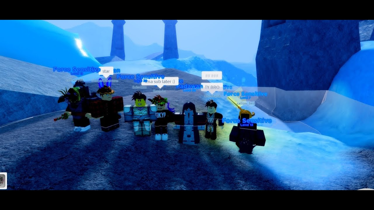 Taking Over The Server As Jedis In Ilum 2 Roblox Star Wars