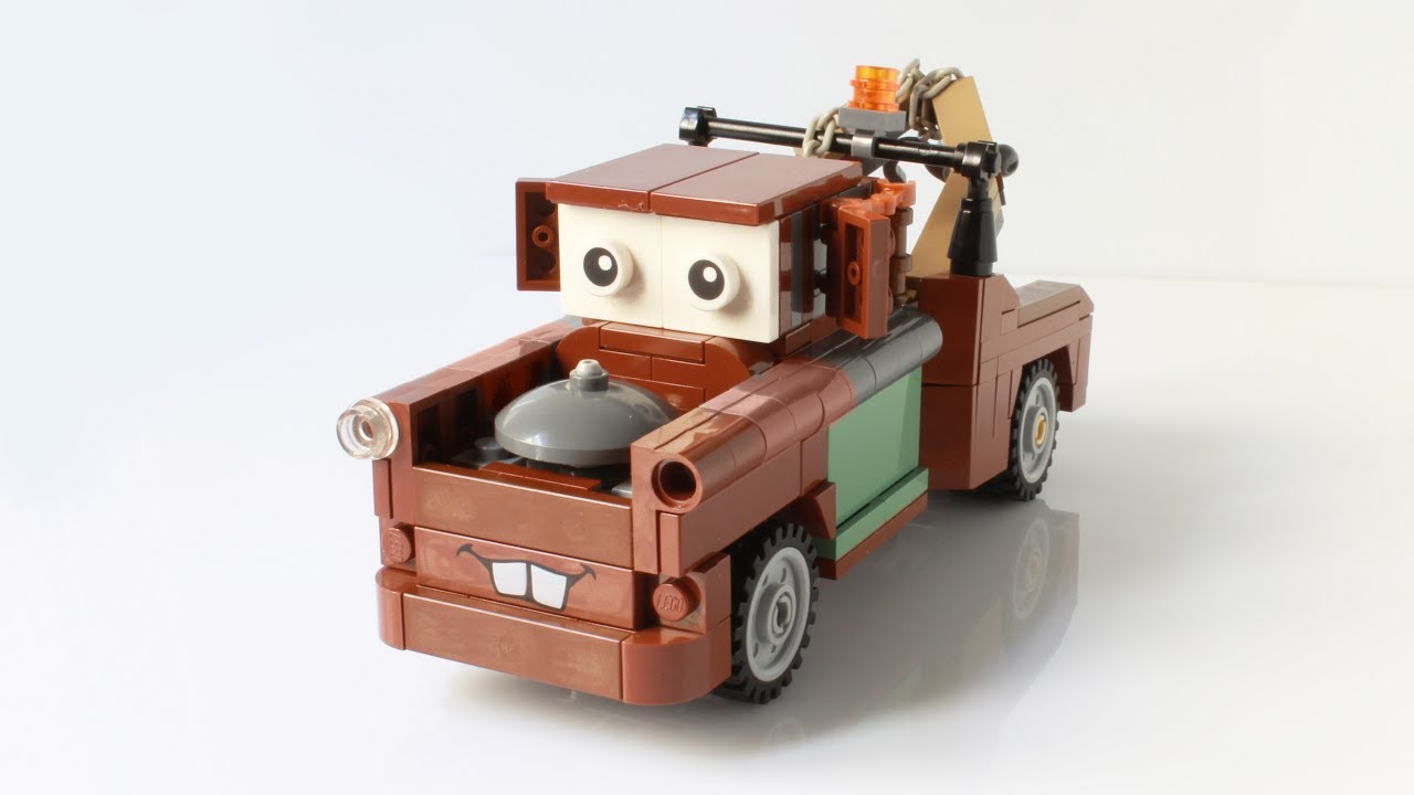 Lego Tow Mate Mater From Cars 1 2 3 Moc Youtube