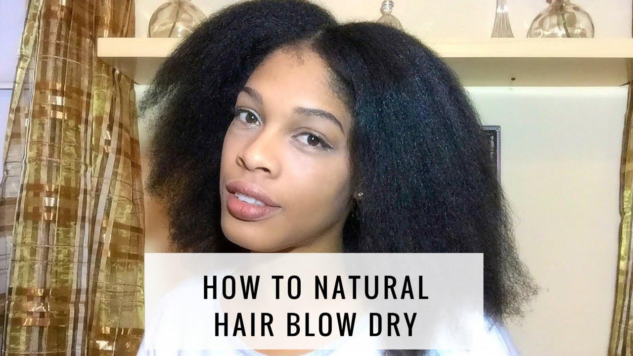 natural hair tutorial